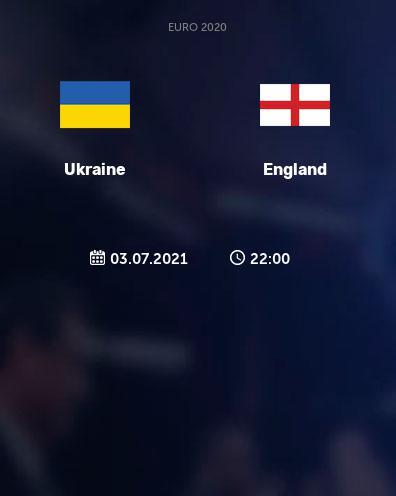 بث مباشر مباراة انجلترا واوكرانيا