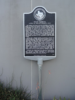 Historical Marker honoring Felix Tijerina, of Felix Restaurant and LULAC fame