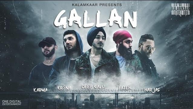 Gallan Lyrics - Deep Kalsi, Fateh, Kr$Na, Harjas