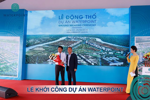 Khởi công dự án Waterpoint 06/2018