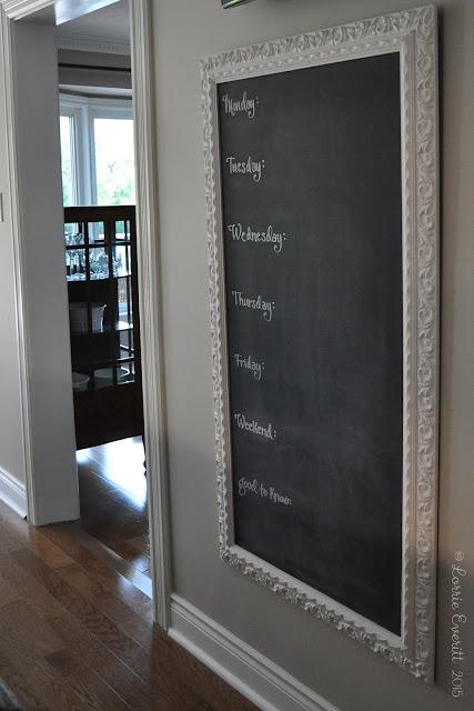 chalkboard diy | Lorrie Everitt Studio