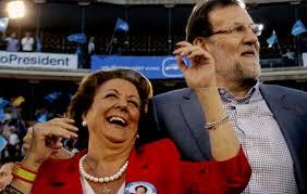 Rajoy ha salido en la tele, demostrando que la afección por su repentina muerte, es superior al efecto de haberla apartado del PP.  Los medios buscan culpables... ¿Será Rajoy uno de ellos, por haberla expulsado?.porqueVivir para ver.