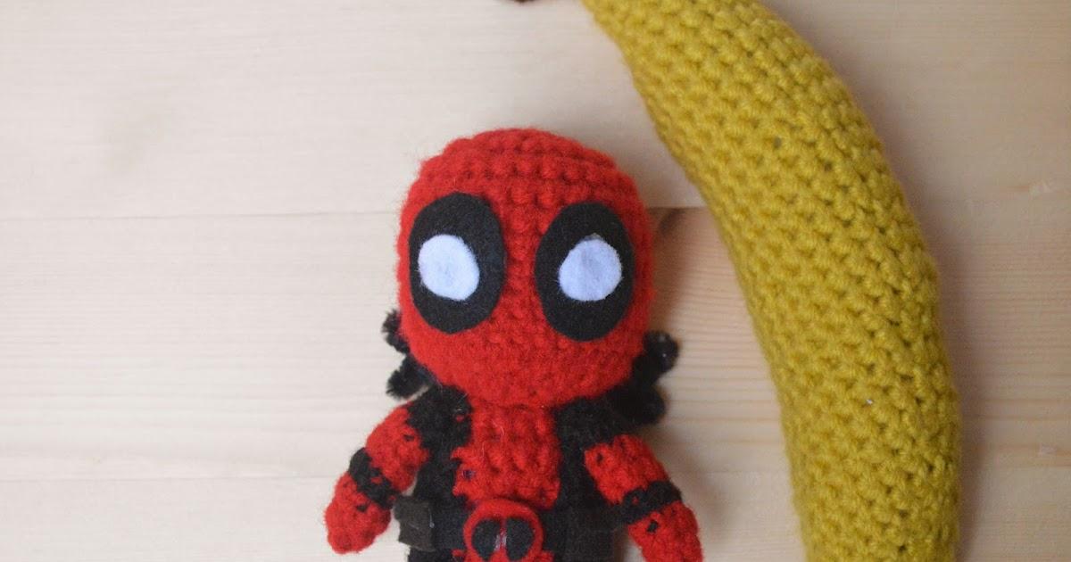 Deadpool Crochet Pattern Loopteeloops