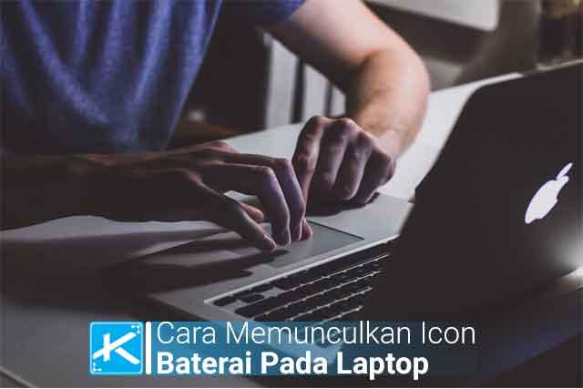 Cara Memunculkan Icon Baterai Pada Laptop di Windows 8 Terbaru dan cara mengatasi simbol baterai yang tidak muncul di menu taskbar pada laptop