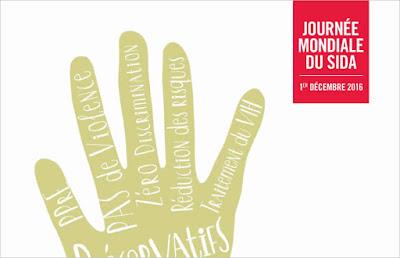 Journée Mondiale de la lutte contre le SIDA, le 1er décembre