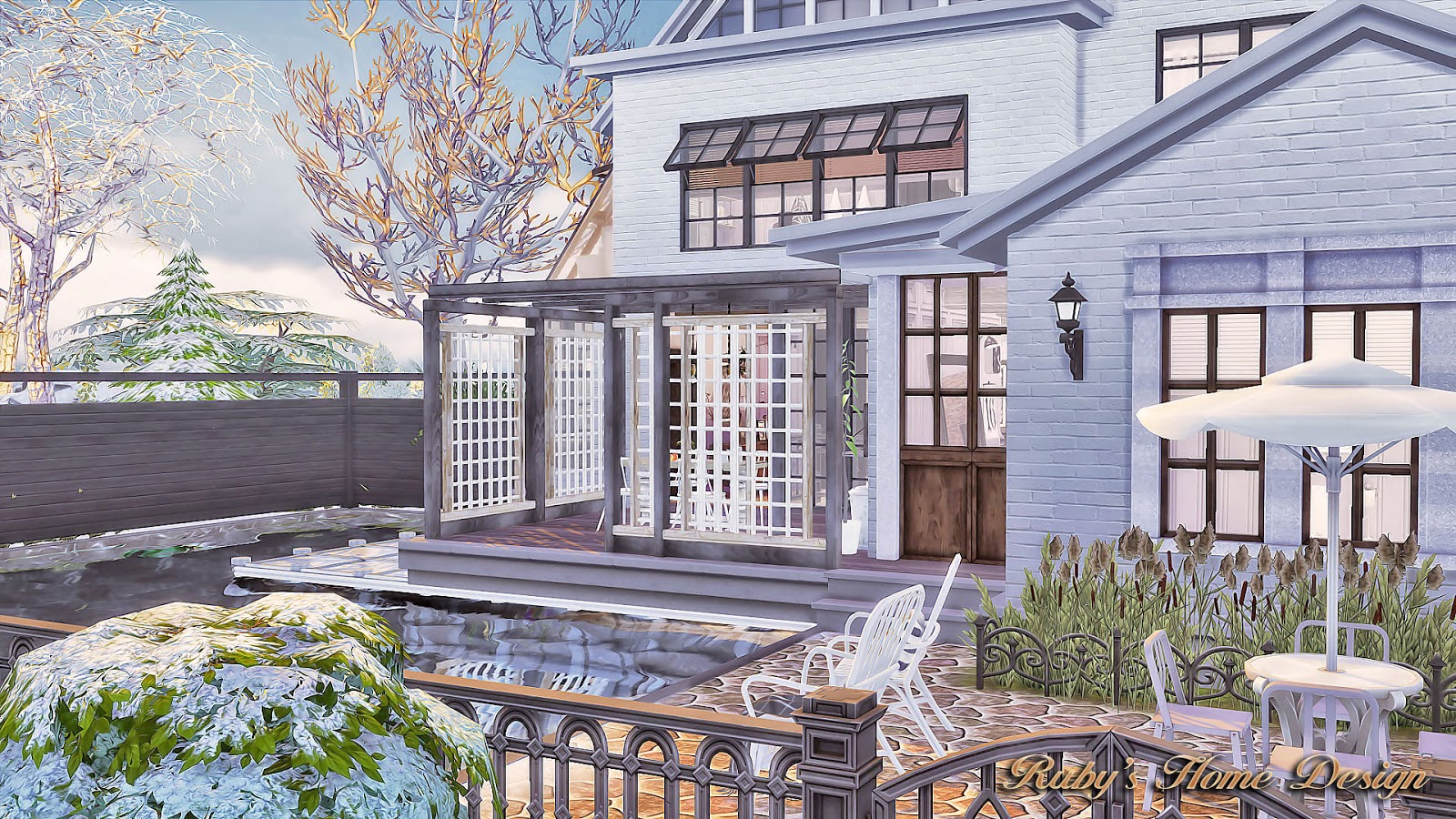 sims4 neutral chic house no download link   ruby