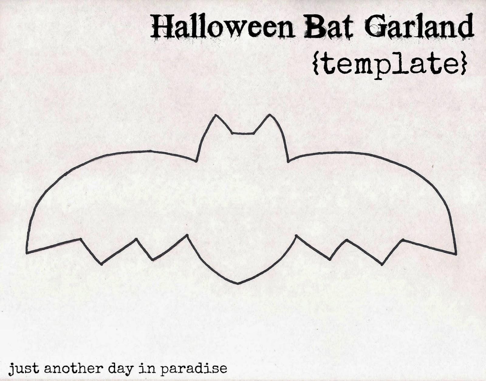 Bat Garland Tutorial