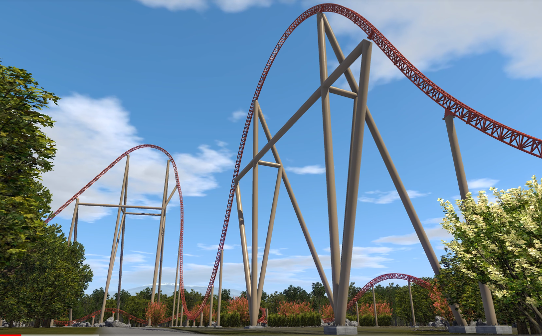 The Attraction Will Be The Highest Coaster In Belgium Netherlands Luxembourg And France And Features 15 Airtime Moments And A Non Inverting Cobra Roll
