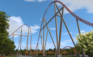 Intamin Reveals New Coaster for Walibi Belgium, 2021