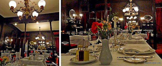 Tradiciona restaurante Lhardy, em Madri