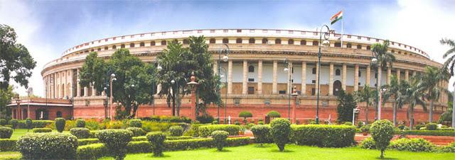 Most attractive Parliament House in Delhi India