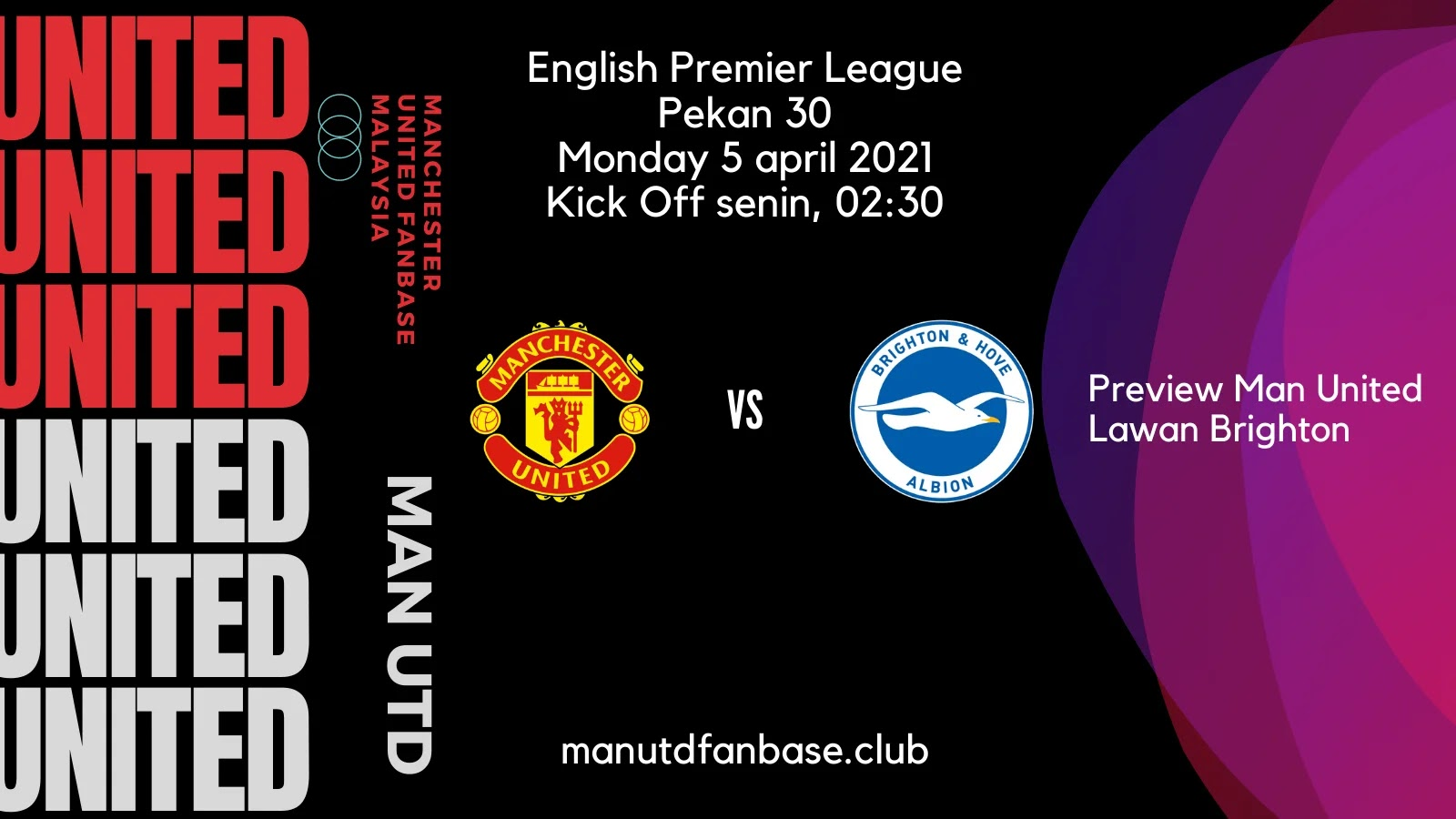 Preview Manchester United Lawan Brighton Pekan 30 PL