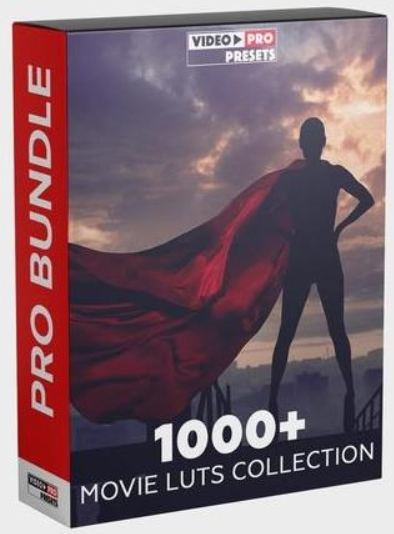 1000+ MOVIE LUTS COLLECTION 2020