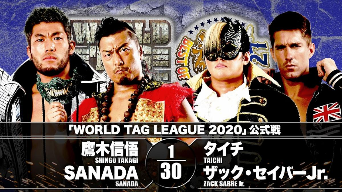 Cobertura: NJPW World Tag League – Day 3 – Ataque do dragão!
