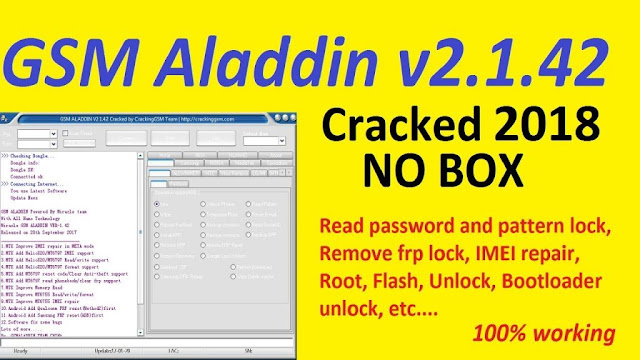 Download GSM Aladdin Box V2 1.42 - Full Working Crack 2020