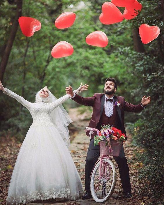 اجمل وقفات التصوير للمتزوجين والمخطوبين