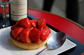 South African Strawberry Tart Hertzoggies