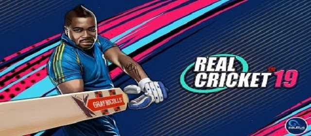 Real Cricket 19 v2.6 Mod Apk Android Oyun indir