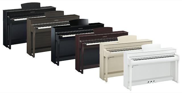 Yamaha CLP-735/CLP745 cabinet colors