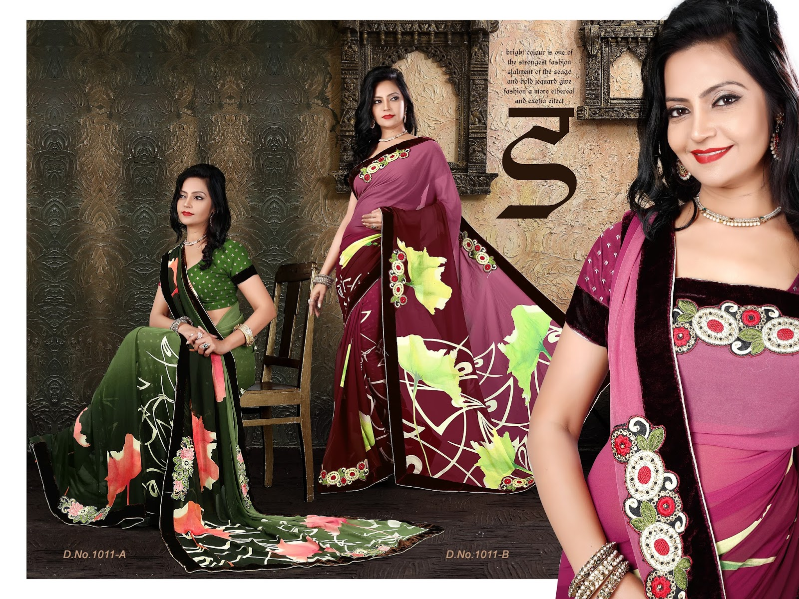 Gulabo-Very Beautiful Heavy Georgette Printed Fancy  Saree