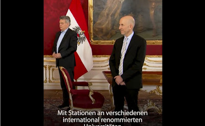 رئيس النمسا يعين وزير العمل الجديد و يذكره بالتحديات