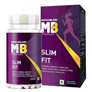 11).MuscleBlaze Women Slim Fit with Garcinia Cambogia & Green Coffee Bean Extract