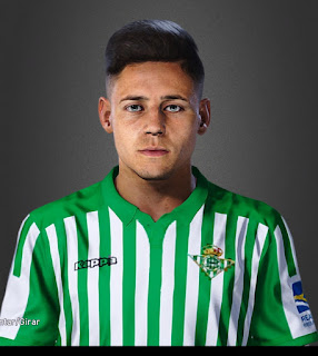 PES 2020 Faces Álex Moreno by Lucas Facemaker