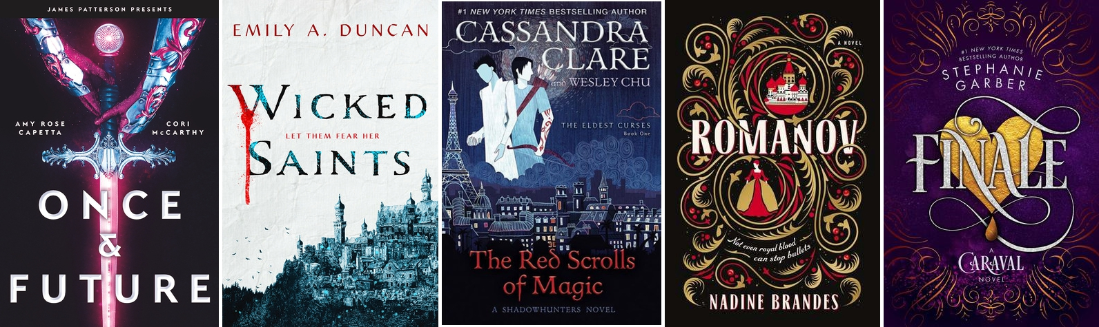 Features | 10 YA Novels I'm Looking Forward To in 2019
