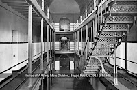 A Wing interior, Male Division, Boggo Road Gaol, Brisbane c.1915.