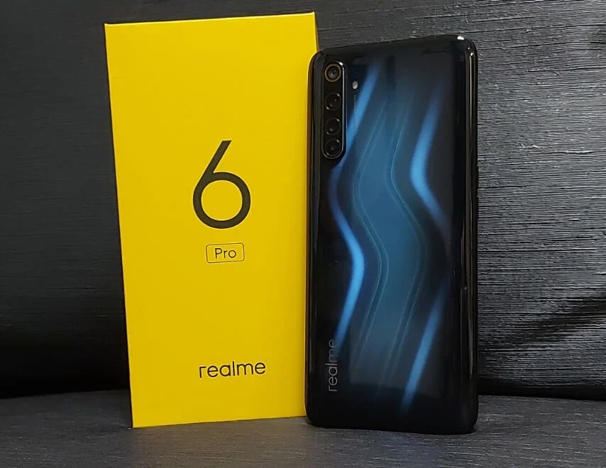 Realme 6 Pro Lightning-Inspired Design