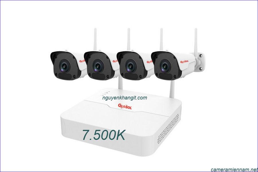 Bộ kít camera IP wifi Global