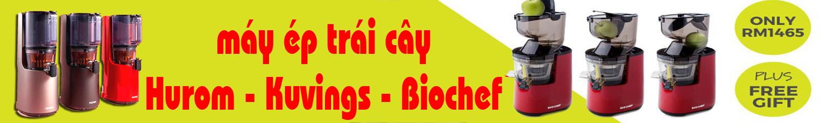 Máy ép chậm Hurom Kuvings Biochef - Hàng cao cấp: Máy Xay Ép Đa Năng Comet CM9828N