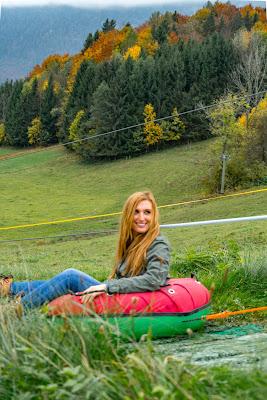 Talwanderung Inzell | Herbstwandern im Chiemgau | Moor-Erlebnis-Pfad und Reifenrutsche Kesselalm 15