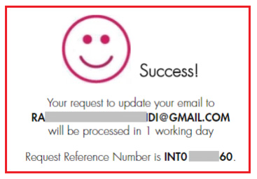 how to update email id in axis bank netbanking