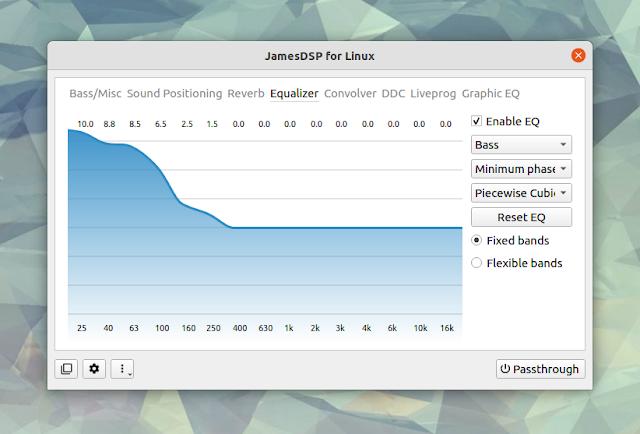 JamesDSP Linux equalizer