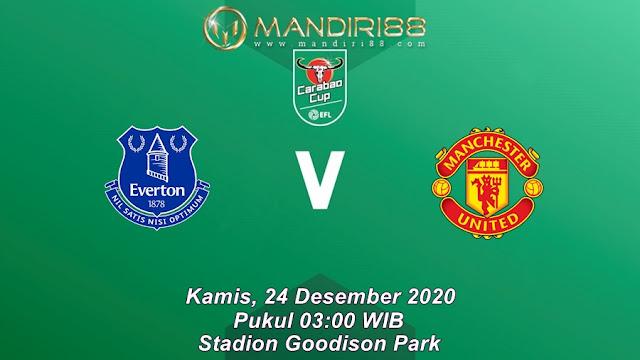 Prediksi Everton Vs Manchester United, Kamis 24 Desember 2020 Pukul 03.00 WIB @ Mola TV