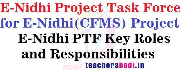 E-Nidhi Project Task Force,E-Nidhi(CFMS) Project