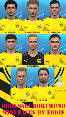 PES 2017 Borussia Dortmund Mini Facepack by Eddie