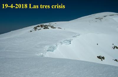 Cornisas de Peñalara en 2018