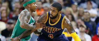 Kyrie Irving, Isaiah Thomas, Boston Celtics, Cleveland Cavaliers,