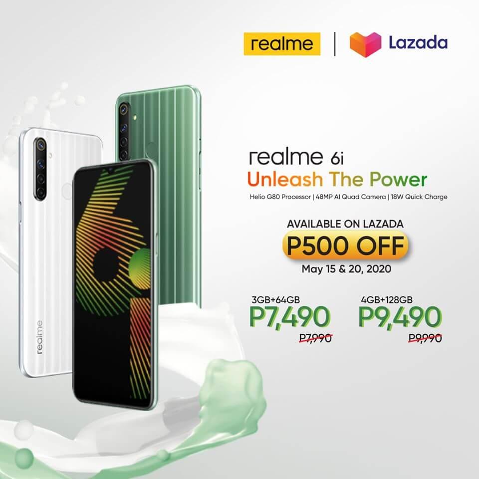 Realme 6i Sale Price in Philippines