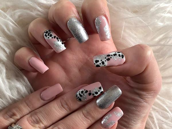 New Nails | Pink & Print
