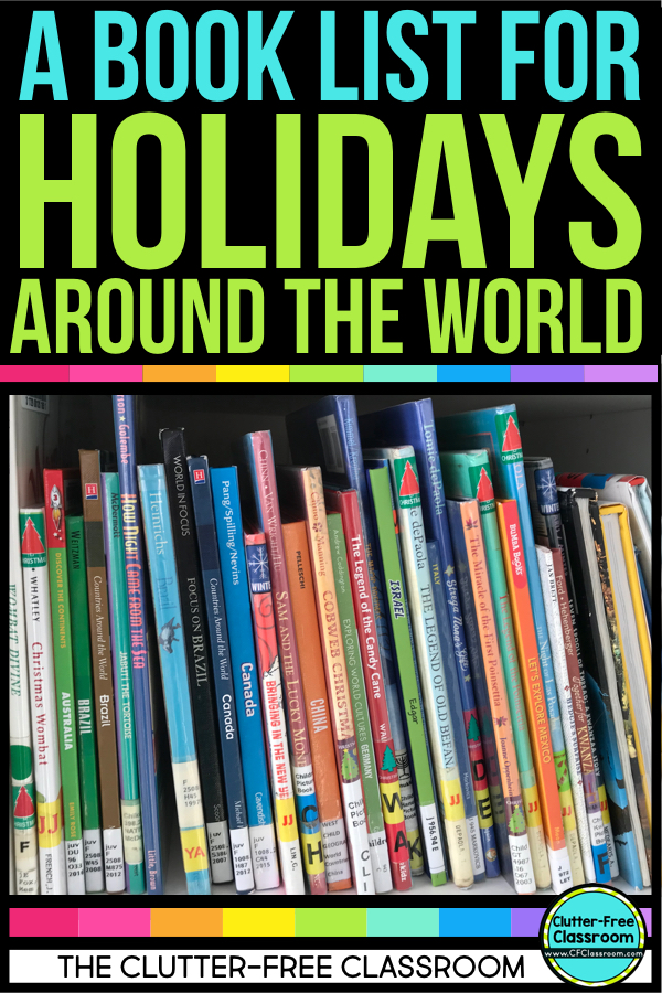 Holidays Around the World Books as read alouds share multicultural celebrations & diverse traditions. This book list includes picture books, non-fiction books, & reading passages that show diversity, cultures, & winter holidays in the global world. The list goes beyond Christmas Around the World w/ Las Posadas, Epiphany, Hannukah, Boxing Day, Chinese New Year, St. Lucia Day & Diwali. It features Canada, Australia, Spain, Mexico, Italy, France, Brazil, Germany & China.
