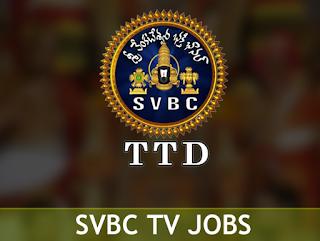 SVBC TV Jobs