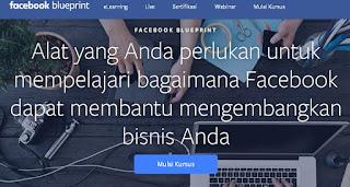 Belajar Beriklan di Facebook Dengan Facebook Blueprint