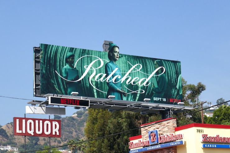Ratched extension cut-out billboard