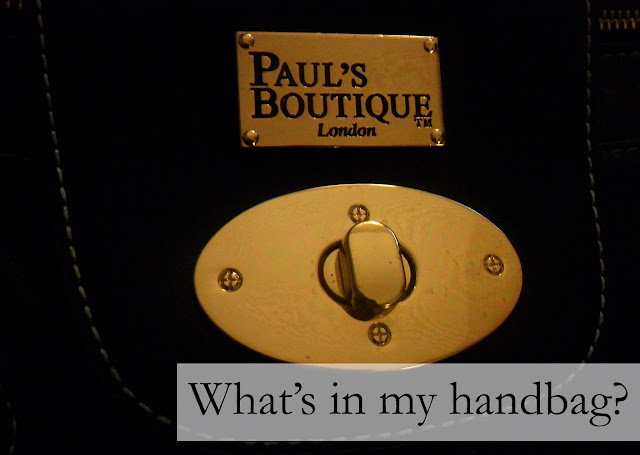 What's in my handbag - Paul's Boutique