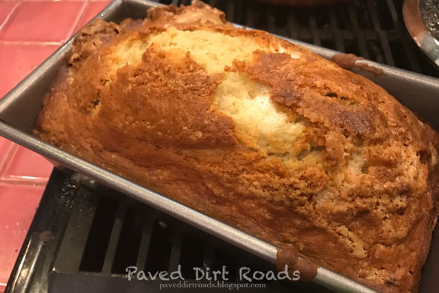 how to cook banana bread all the way through