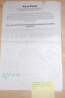 Thinking of Teaching: Fractions Part 2- Problem Solving ...