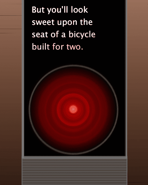 HAL9000 image made with Processing.